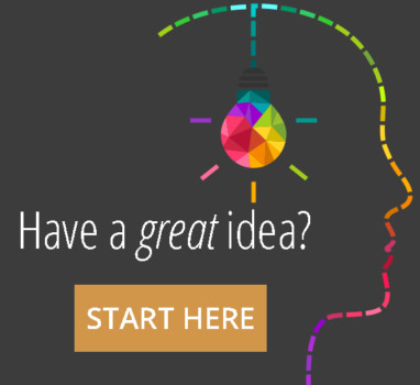 Have a great idea - start here image