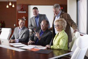 CU*Answers Management Services Photo - Randy, Jody, Bob, Geoff