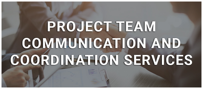 project team communication cand coordination services